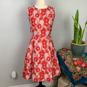 MaxMara Shine Coral FloralPrint Dress